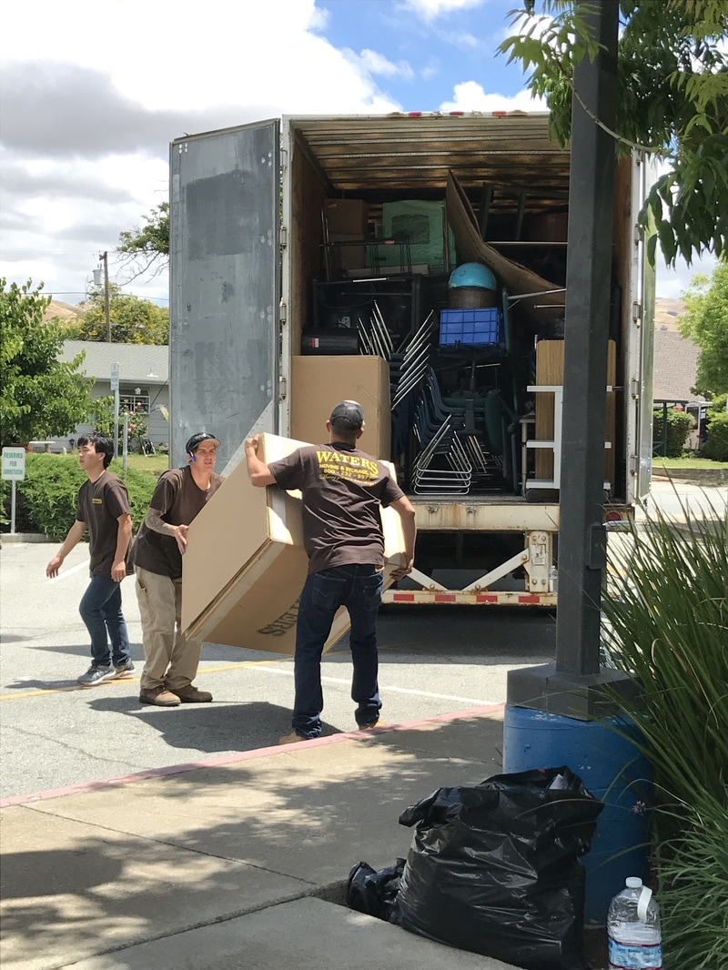Commercial Movers in SF Bay and Sacramento Areas